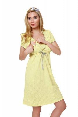 Italian Fashion Felicita žlutá Noční košilka