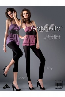 Gabriella 138 microfibre short viola Legíny