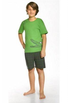 Cornette 789/34 Hungry crocodile Zelené Chlapecké pyžamo