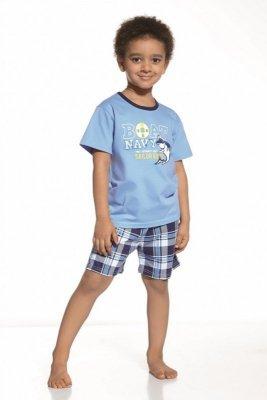 Cornette 789/30 Ahoy Modré Chlapecké pyžamo