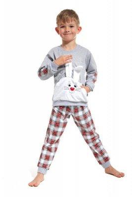 Cornette 589/62 Hop Šedé Chlapecké pyžamo