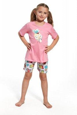 Cornette 787/55 Lemonade Růžové Dívčí pyžamo