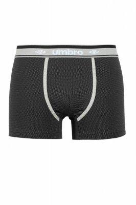 Umbro Dots černé Pánské boxerky