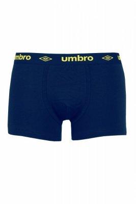Umbro Sign navy-yellow Pánské boxerky