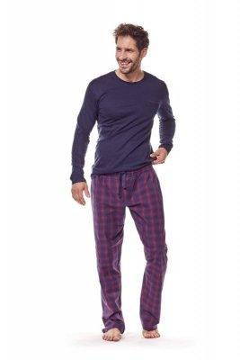 Henderson 36216 59x Tmavě modré Pánské pyžamo
