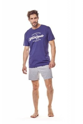 Henderson 36200 59x Tmavě modré Pánské pyžamo