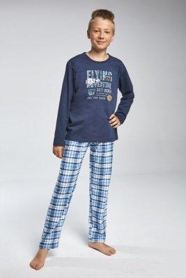Cornette 810/77 Flying Tmavě modré Chlapecké pyžamo
