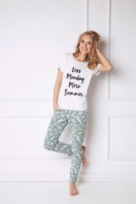 Aruelle Tropics Long Dámské pyžamo
