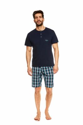 Henderson Urge 36830-59X Tmavě modré Pánské pyžamo