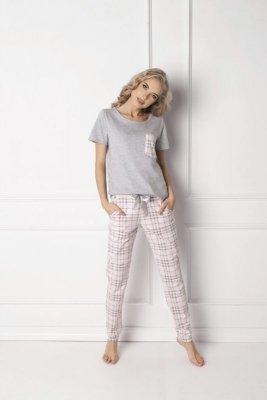 Aruelle Londie Long Grey Dámské pyžamo