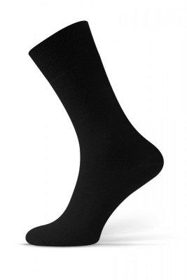 Sesto Senso Beztlakové černé Ponožky