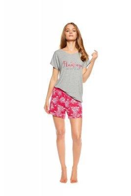 Henderson Ladies Trophy 36789-90X Šedo-růžové Dámské pyžamo