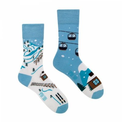 Spox Sox Skiing Ponožky