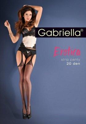 Gabriella Erotica Gabriela Strip Panty 235 punčochové kalhoty
