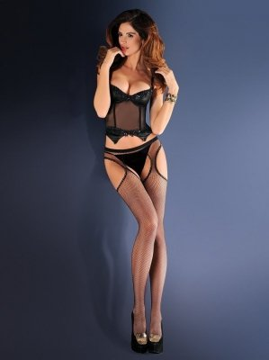 Gabriella Erotica Strip Panty 151 636 punčochové kalhoty