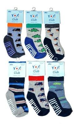 YO! Boys ABS SK 20 19-25 A'6 mix dětské ponožky