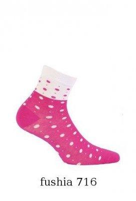 Gatta Cottoline jarní-letní vzorované G44.59N 11-15 let Dívčí ponožky