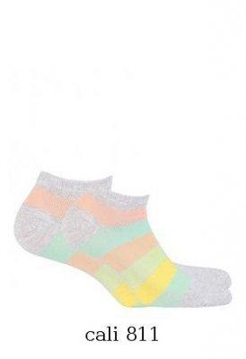 Wola  W41.01P 11-15 lat ponožky s vzorem