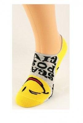 Bratex Emotikony 9858 Barevné dámské ponožky