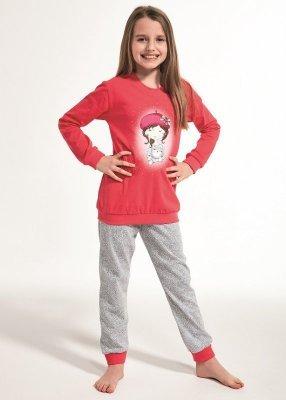 Cornette Kids Girl 594/108 Girl With Cat 86-128 Dívčí pyžamo