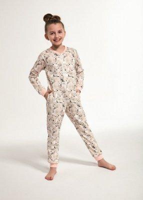 Cornette Kids Girl 105/119 Polar Bear 2 86-128 Dívčí overal-pyžamo