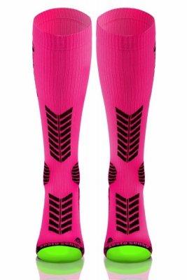 Sesto Senso Compression Socks ružové Ponožky