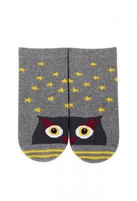 Wola W24.01P Dobrana Para 2-6 lat ponožky s vzorem