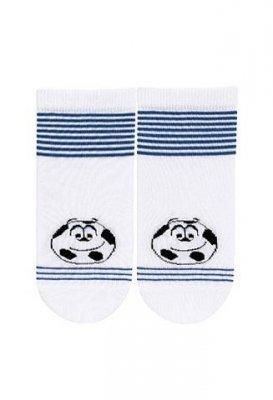 Wola W24.P01 2-6 lat chlapecké ponožky, s vzorem