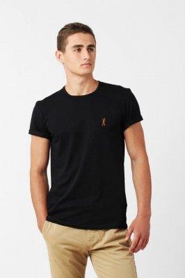 Orlovski R-neck Black Pánské tričko