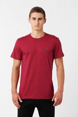 Orlovski R-neck Burgund Pánské tričko