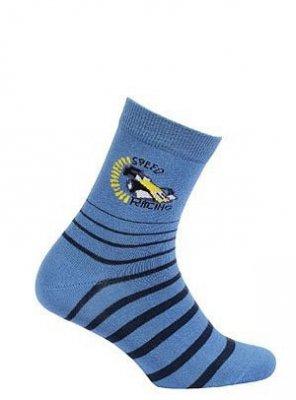 Wola W34.P01 6-11 Lat chlapecké ponožky