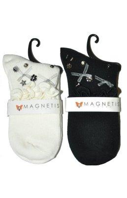 Magnetis 3012 Volánek lesklé kamínky Ponožky