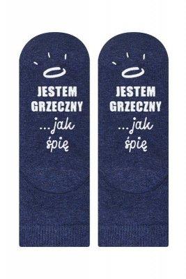Soxo Życiowe instrukcje 4128 - jestem grzeczny... Dětské ponožky