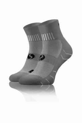 Sesto Senso Frotte Sport Socks šedé Ponožky