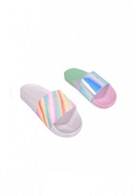 YO! OF-012 lesk Dívčí plažové pantofle