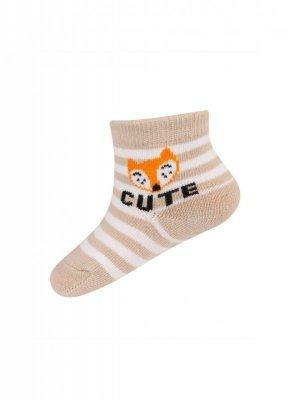 Soxo 76884 ABS s nápisy Ponožky