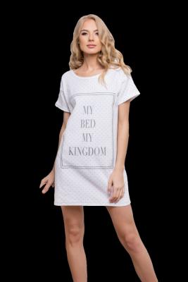 Aruelle Kingdom Dots White Noční košilka