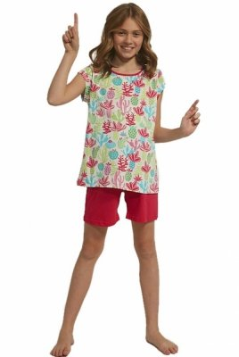 Cornette 358/79 Cactus Dívčí pyžamo
