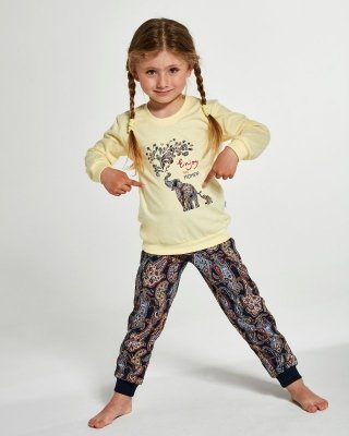 Cornette Kids Girl 594/133 Elephants 86-128 Dívčí pyžamo