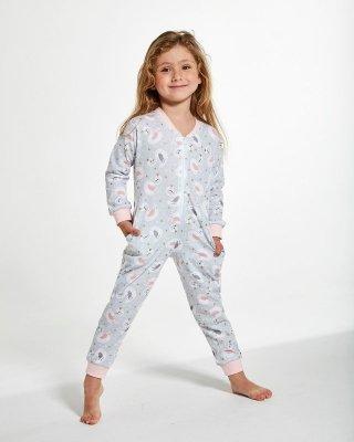 Cornette Young Girl 385/136 Young Swan 2 Overal - Dívčí pyžamo