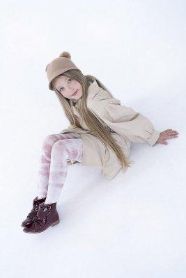 Knittex Tasha 3D Dívčí punčochové kalhoty