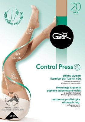 Gatta Control Press 20 den Punčochy