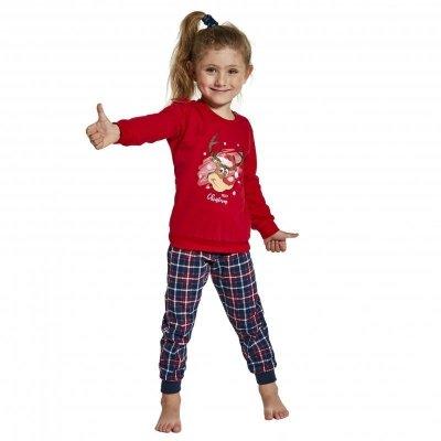 Cornette 594/130 Reindeer Dívčí pyžamo