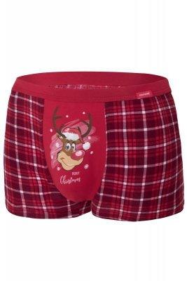 Cornette Merry Christmas Reindeer 2 007/58 Pánské boxerky