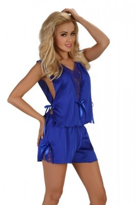 Beauty Night Mellissa blue Erotická souprava