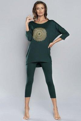 Italian Fashion Mandala r.3/4 k.3/4 Dámské pyžamo