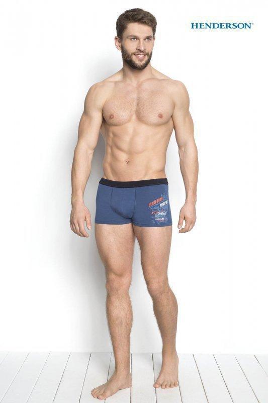 Henderson Denso 34269-55X Modré Pánské boxerky