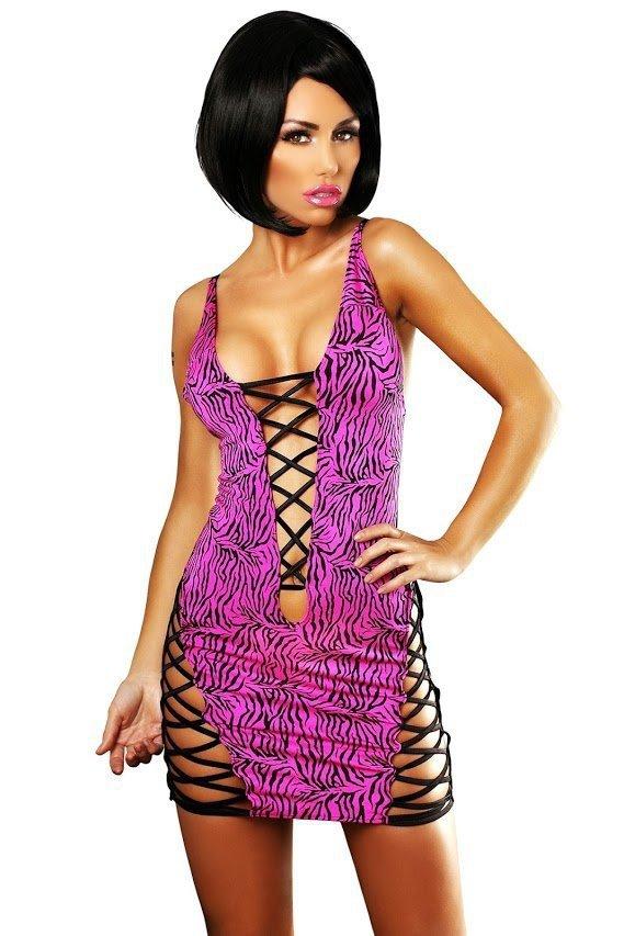Lolitta Zebra Dress Šaty