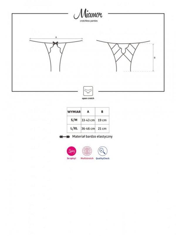 Obsessive Miamor Kalhotky otevřené