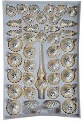 Zestaw dekorwany szampania mrożonka świeczka